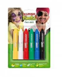 SET FACE STICK 6 UNIDS. COLORES SURTIDOS