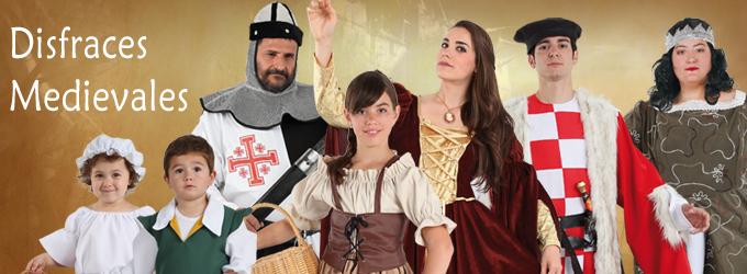 Disfraces Medievales en Fiesta y Carnaval