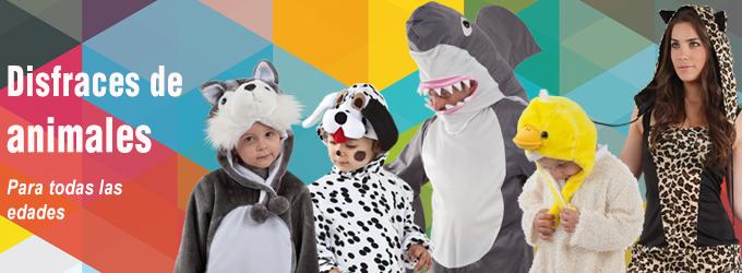 Disfraces de animales para niños y adultos