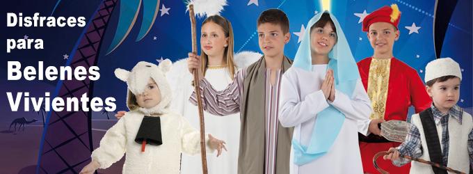 Disfraces para belén en Fiesta y Carnaval
