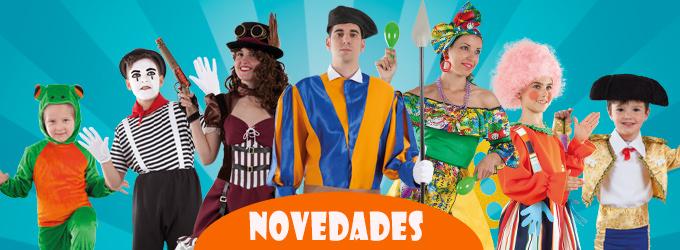 Nuevos disfraces para carnaval